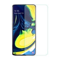 Pellicola in Vetro Temperato Protettiva Proteggi Schermo Film per Samsung Galaxy A80 Chiaro