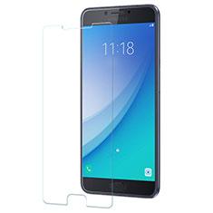 Pellicola in Vetro Temperato Protettiva Proteggi Schermo Film per Samsung Galaxy C7 Pro C7010 Chiaro