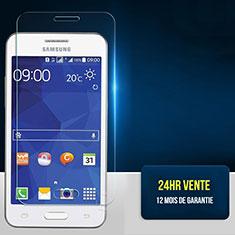 Pellicola in Vetro Temperato Protettiva Proteggi Schermo Film per Samsung Galaxy Core 2 G355H Core II Dual Chiaro
