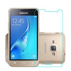 Pellicola in Vetro Temperato Protettiva Proteggi Schermo Film per Samsung Galaxy J1 (2016) J120F Chiaro