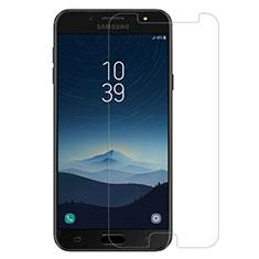 Pellicola in Vetro Temperato Protettiva Proteggi Schermo Film per Samsung Galaxy J7 Plus Chiaro