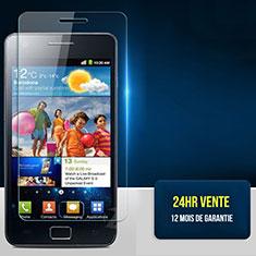 Pellicola in Vetro Temperato Protettiva Proteggi Schermo Film per Samsung Galaxy S2 II i9100 Chiaro