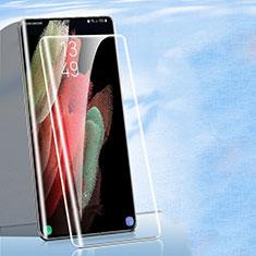 Pellicola in Vetro Temperato Protettiva Proteggi Schermo Film per Samsung Galaxy S21 Ultra 5G Chiaro