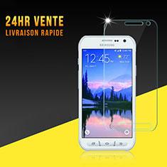 Pellicola in Vetro Temperato Protettiva Proteggi Schermo Film per Samsung Galaxy S6 Active G890 Chiaro