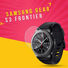 Pellicola in Vetro Temperato Protettiva Proteggi Schermo Film per Samsung Gear S3 Classic Chiaro