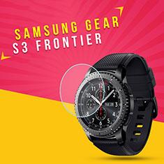 Pellicola in Vetro Temperato Protettiva Proteggi Schermo Film per Samsung Gear S3 Frontier LTE Chiaro