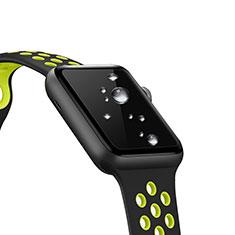 Pellicola in Vetro Temperato Protettiva Proteggi Schermo Film T01 per Apple iWatch 2 42mm Chiaro
