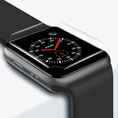 Pellicola in Vetro Temperato Protettiva Proteggi Schermo Film T01 per Apple iWatch 42mm Chiaro