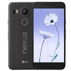 Pellicola in Vetro Temperato Protettiva Proteggi Schermo Film T01 per Google Nexus 5X Chiaro