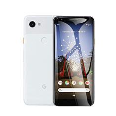 Pellicola in Vetro Temperato Protettiva Proteggi Schermo Film T01 per Google Pixel 3a Chiaro