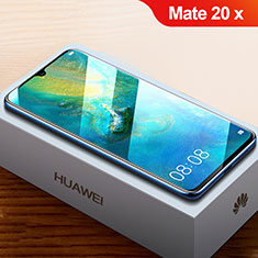 Pellicola in Vetro Temperato Protettiva Proteggi Schermo Film T01 per Huawei Mate 20 X 5G Chiaro