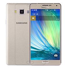Pellicola in Vetro Temperato Protettiva Proteggi Schermo Film T01 per Samsung Galaxy A7 SM-A700 Chiaro