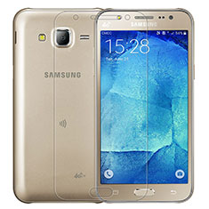 Pellicola in Vetro Temperato Protettiva Proteggi Schermo Film T01 per Samsung Galaxy J7 SM-J700F J700H Chiaro