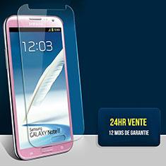 Pellicola in Vetro Temperato Protettiva Proteggi Schermo Film T01 per Samsung Galaxy Note 2 N7100 N7105 Chiaro