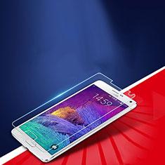 Pellicola in Vetro Temperato Protettiva Proteggi Schermo Film T01 per Samsung Galaxy Note 4 SM-N910F Chiaro