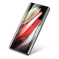 Pellicola in Vetro Temperato Protettiva Proteggi Schermo Film T01 per Samsung Galaxy S21 Ultra 5G Chiaro