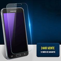 Pellicola in Vetro Temperato Protettiva Proteggi Schermo Film T01 per Samsung Galaxy S5 Duos Plus Chiaro