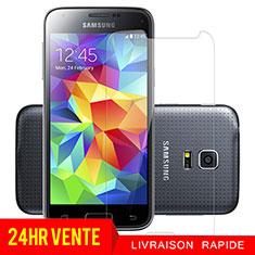 Pellicola in Vetro Temperato Protettiva Proteggi Schermo Film T01 per Samsung Galaxy S5 Mini G800F G800H Chiaro
