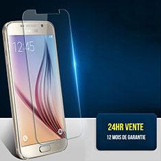 Pellicola in Vetro Temperato Protettiva Proteggi Schermo Film T01 per Samsung Galaxy S6 Duos SM-G920F G9200 Chiaro
