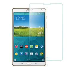 Pellicola in Vetro Temperato Protettiva Proteggi Schermo Film T01 per Samsung Galaxy Tab S 8.4 SM-T700 Chiaro