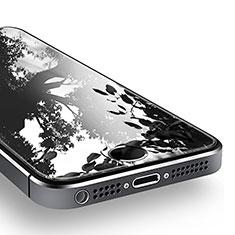 Pellicola in Vetro Temperato Protettiva Proteggi Schermo Film T02 per Apple iPhone 5 Chiaro