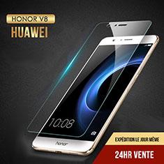 Pellicola in Vetro Temperato Protettiva Proteggi Schermo Film T02 per Huawei Honor V8 Chiaro