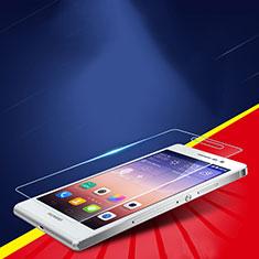 Pellicola in Vetro Temperato Protettiva Proteggi Schermo Film T02 per Huawei P7 Dual SIM Chiaro