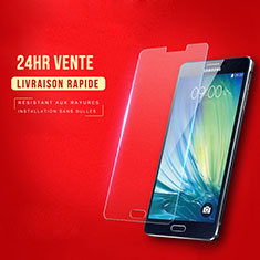 Pellicola in Vetro Temperato Protettiva Proteggi Schermo Film T02 per Samsung Galaxy A7 SM-A700 Chiaro