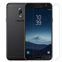 Pellicola in Vetro Temperato Protettiva Proteggi Schermo Film T02 per Samsung Galaxy C8 C710F Chiaro