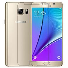 Pellicola in Vetro Temperato Protettiva Proteggi Schermo Film T02 per Samsung Galaxy Note 5 N9200 N920 N920F Chiaro