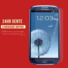 Pellicola in Vetro Temperato Protettiva Proteggi Schermo Film T02 per Samsung Galaxy S3 4G i9305 Chiaro
