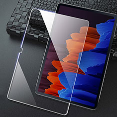 Pellicola in Vetro Temperato Protettiva Proteggi Schermo Film T02 per Samsung Galaxy Tab S7 4G 11 SM-T875 Chiaro