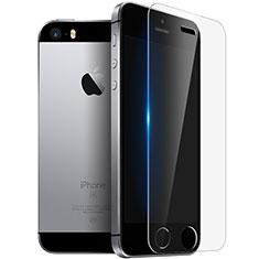 Pellicola in Vetro Temperato Protettiva Proteggi Schermo Film T03 per Apple iPhone SE Chiaro