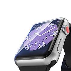 Pellicola in Vetro Temperato Protettiva Proteggi Schermo Film T03 per Apple iWatch 4 40mm Chiaro