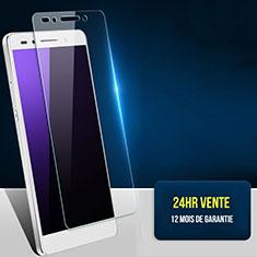 Pellicola in Vetro Temperato Protettiva Proteggi Schermo Film T03 per Huawei Honor 7 Dual SIM Chiaro