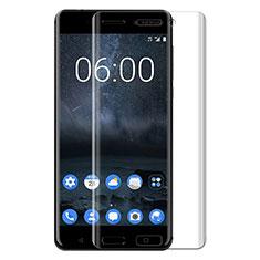 Pellicola in Vetro Temperato Protettiva Proteggi Schermo Film T03 per Nokia 6 Chiaro