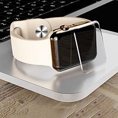 Pellicola in Vetro Temperato Protettiva Proteggi Schermo Film T04 per Apple iWatch 4 40mm Chiaro