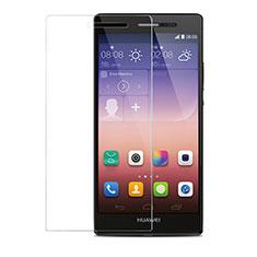 Pellicola in Vetro Temperato Protettiva Proteggi Schermo Film T04 per Huawei P7 Dual SIM Chiaro
