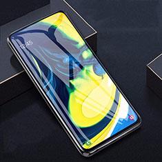 Pellicola in Vetro Temperato Protettiva Proteggi Schermo Film T04 per Samsung Galaxy A80 Chiaro