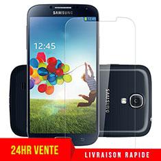 Pellicola in Vetro Temperato Protettiva Proteggi Schermo Film T04 per Samsung Galaxy S4 i9500 i9505 Chiaro