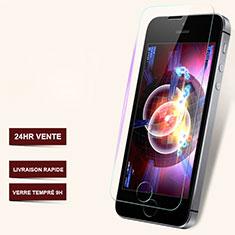 Pellicola in Vetro Temperato Protettiva Proteggi Schermo Film T06 per Apple iPhone 5 Chiaro