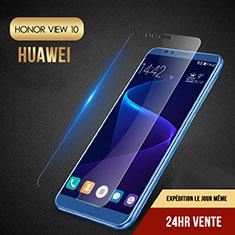 Pellicola in Vetro Temperato Protettiva Proteggi Schermo Film T06 per Huawei Honor V10 Chiaro