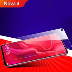 Pellicola in Vetro Temperato Protettiva Proteggi Schermo Film T06 per Huawei Nova 4 Chiaro