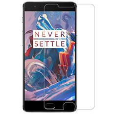 Pellicola in Vetro Temperato Protettiva Proteggi Schermo Film T07 per OnePlus 3T Chiaro