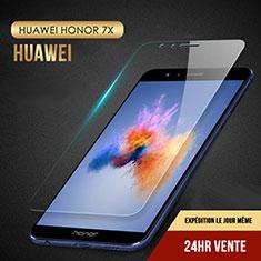 Pellicola in Vetro Temperato Protettiva Proteggi Schermo Film T08 per Huawei Honor 7X Chiaro