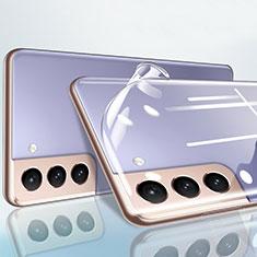 Pellicola in Vetro Temperato Protettiva Retro Proteggi Schermo Film B01 per Samsung Galaxy S21 Plus 5G Chiaro