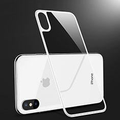 Pellicola in Vetro Temperato Protettiva Retro Proteggi Schermo Film B09 per Apple iPhone Xs Max Bianco
