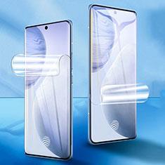 Pellicola Protettiva Film Integrale Proteggi Schermo F01 per Vivo X60 Pro 5G Chiaro