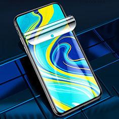 Pellicola Protettiva Film Integrale Proteggi Schermo F01 per Xiaomi Redmi Note 9 Pro Chiaro