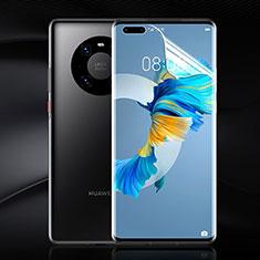 Pellicola Protettiva Film Integrale Proteggi Schermo F02 per Huawei Mate 40 Pro+ Plus Chiaro